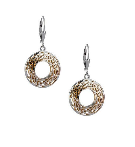 Keith Jack Window To The Soul Round Earrings - Fifth Avenue Jewellers