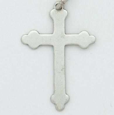 Large Silver Fancy Cross - Fifth Avenue Jewellers