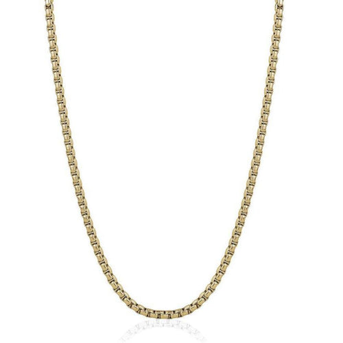 Mens Polished Round Box Chain SYPN32-24 - Fifth Avenue Jewellers