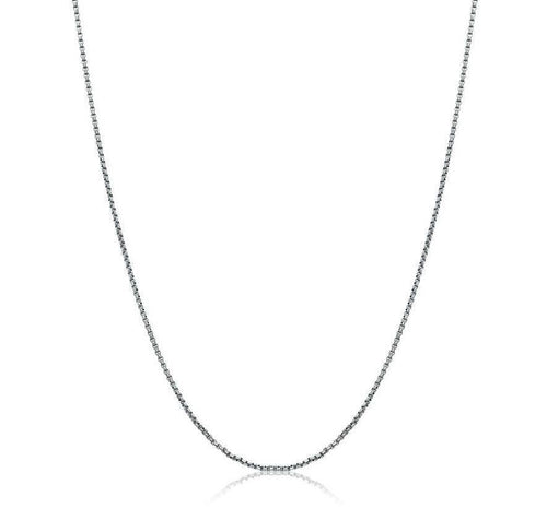 Mens Round Box Link Chain SGPN1-22 - Fifth Avenue Jewellers