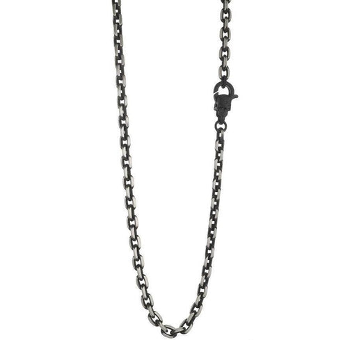 Mens Skull Clasp Necklace SBWN21-24 - Fifth Avenue Jewellers