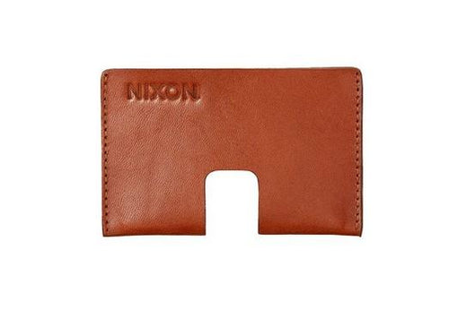 Nixon Annex Card Wallet Saddle - Fifth Avenue Jewellers