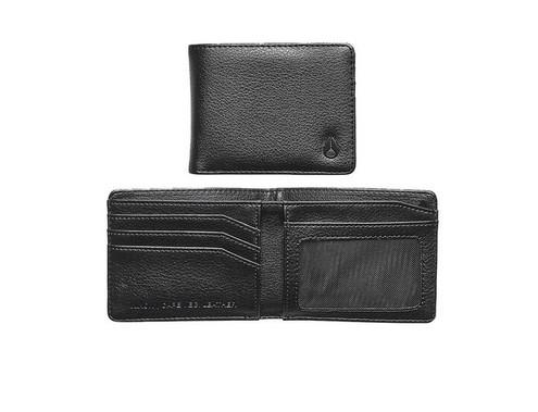Nixon Cape Vegan Leather Wallet Black - Fifth Avenue Jewellers