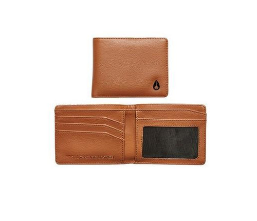 Nixon Cape Vegan Leather Wallet Saddle - Fifth Avenue Jewellers