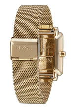 Load image into Gallery viewer, Nixon K Squared Milanese Watch Gold A1206-502-00 - Fifth Avenue Jewellers