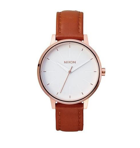 Nixon Kensington Leather Watch A108-1045-00 - Fifth Avenue Jewellers