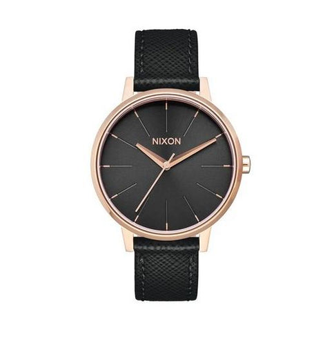 Nixon Kensington Leather Watch A108-1098-00 - Fifth Avenue Jewellers