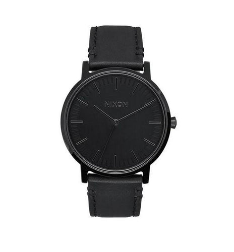 Nixon Porter Leather Watch A1058-001-00 - Fifth Avenue Jewellers