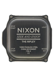 Nixon Ripley Watch Gunmetal A1267-131-00 - Fifth Avenue Jewellers