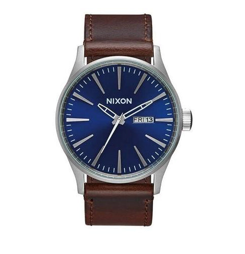 Nixon Sentry Leather Watch A105-1524-00 - Fifth Avenue Jewellers