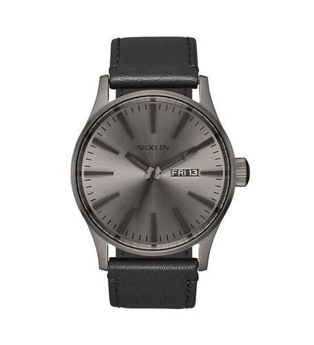 Nixon Sentry Leather Watch A105-1531-00 - Fifth Avenue Jewellers