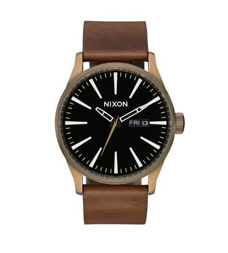 Nixon Sentry Leather Watch A105-3053-00 - Fifth Avenue Jewellers