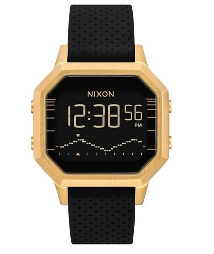 Nixon Siren Stainless Steel Watch Gold/Black A1211-2970-00 - Fifth Avenue Jewellers