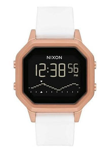 Nixon Siren Stainless Steel Watch Rose/White A1211-1045-00 - Fifth Avenue Jewellers