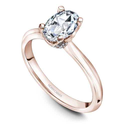 Noam Carver 14K Rose Gold Engagement Ring B027-04RM-FCYA - Fifth Avenue Jewellers
