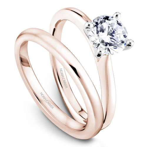 Noam Carver 14K Rose Gold Engagement Ring R045-01RWM-100A - Fifth Avenue Jewellers