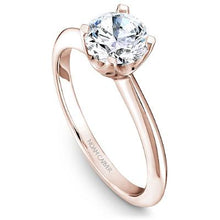 Load image into Gallery viewer, Noam Carver 14K Rose Gold Semi Mount Engagement Ring B027-01RM-075A - Fifth Avenue Jewellers