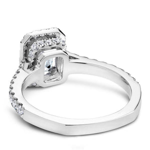Noam Carver 14K White Gold Engagement Ring B034-01WM-FCYA - Fifth Avenue Jewellers