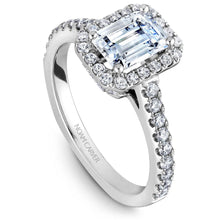 Load image into Gallery viewer, Noam Carver 14K White Gold Engagement Ring B034-01WM-FCYA - Fifth Avenue Jewellers