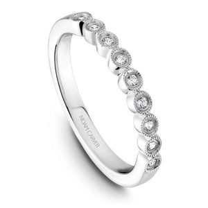 Noam Carver 14K White Gold Wedding Band B068-01WM-100B - Fifth Avenue Jewellers