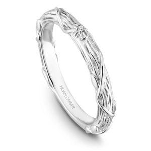 Noam Carver 14K White Gold Wedding Band B081-01WM-075B - Fifth Avenue Jewellers
