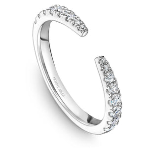 Noam Carver 14K White Gold Wedding Band STA22-1WM - Fifth Avenue Jewellers