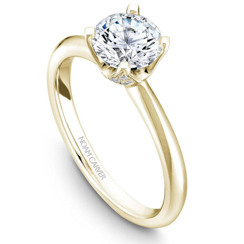 Noam Carver 14K Yellow Gold Engagement Ring B027-03YM-075A - Fifth Avenue Jewellers