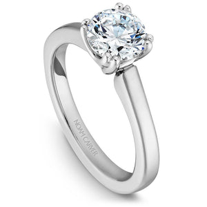 Noam Carver Platinum Engagement Ring B001-02WZ-100A - Fifth Avenue Jewellers