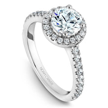 Load image into Gallery viewer, Noam Carver Platinum Engagement Ring B029-01WM-100A - Fifth Avenue Jewellers