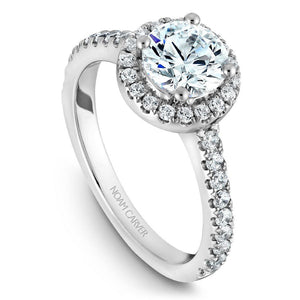 Noam Carver Platinum Engagement Ring B029-01WM-100A - Fifth Avenue Jewellers