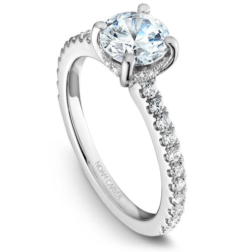 Noam Carver Platinum Engagement Ring B087-01WZ-075A - Fifth Avenue Jewellers