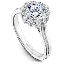 Load image into Gallery viewer, Noam Carver Platinum Engagement Ring R030-01WZ-075A - Fifth Avenue Jewellers