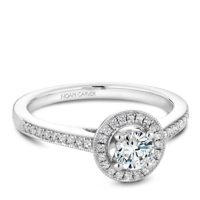 Noam Carver Studio Engagement Ring S130-01WM-FB25 - Fifth Avenue Jewellers