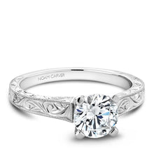 Load image into Gallery viewer, Noam Carver White Gold Engagement Ring B006-03WME-100A - Fifth Avenue Jewellers