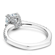 Load image into Gallery viewer, Noam Carver White Gold Engagement Ring B009-01WM-100A - Fifth Avenue Jewellers