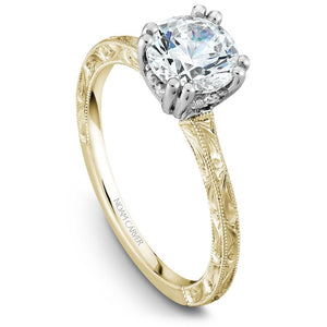 Noam Carver Yellow Gold Engagement Ring B004-02YWME-100A - Fifth Avenue Jewellers