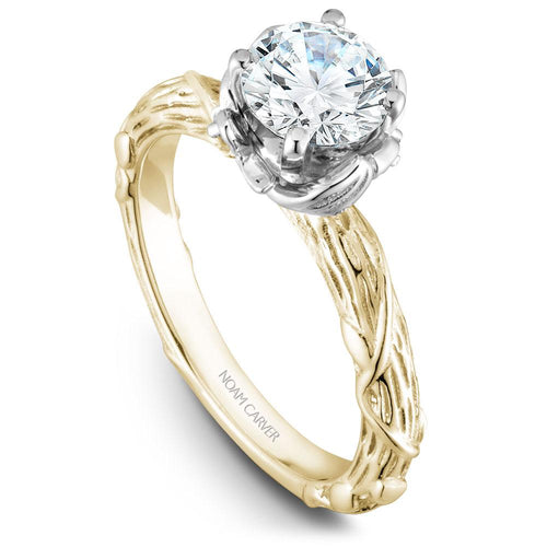 Noam Carver Yellow Gold Engagement Ring B081-01YWM-075A - Fifth Avenue Jewellers