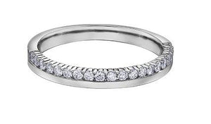 Offset Diamond Band - Fifth Avenue Jewellers
