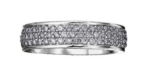 Pave Diamond Ring - Fifth Avenue Jewellers