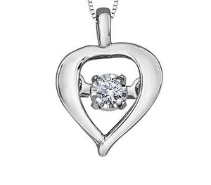 Pear Shaped Pulse Pendant - Fifth Avenue Jewellers