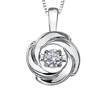 Pulse Cosmic Diamond Pendant - Fifth Avenue Jewellers