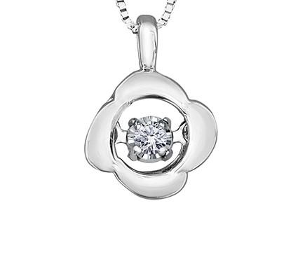 Pulse Wild Rose Pendant - Fifth Avenue Jewellers