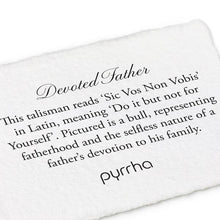 Load image into Gallery viewer, Pyrrha Key Chain Devoted Father - Fifth Avenue Jewellers