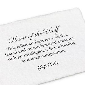 Pyrrha Key Chain Heart of the Wolf - Fifth Avenue Jewellers