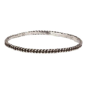Pyrrha Silver Chain Bangle - Fifth Avenue Jewellers