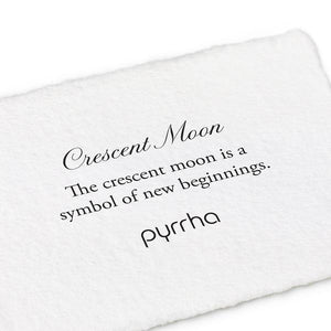 Pyrrha Symbol Charm Crescent Moon - Fifth Avenue Jewellers