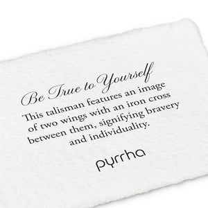 Pyrrha Talisman Be True to Yourself - Fifth Avenue Jewellers
