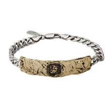 Load image into Gallery viewer, Pyrrha Talisman Fatherhood Wide Bar Bracelet - Fifth Avenue Jewellers