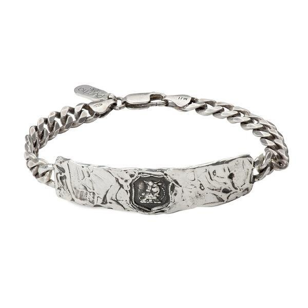 Pyrrha Talisman Fatherhood Wide Bar Bracelet - Fifth Avenue Jewellers