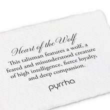Load image into Gallery viewer, Pyrrha Talisman Heart Of The Wolf - Fifth Avenue Jewellers
